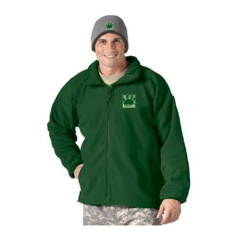 Green Polarfleece Jacket