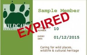 expired member