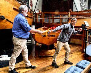 Passing the baton - Andrew Smith & Sam Cuff