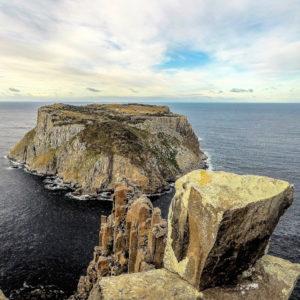 Tasman Island, viewed from the Blade on Cape Pillar
