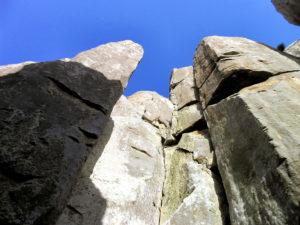 Dolerite columns, Tasman Island